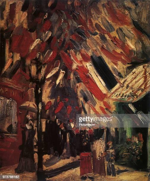 Bastille Day Fete Van Gogh Vincent Willem 1886