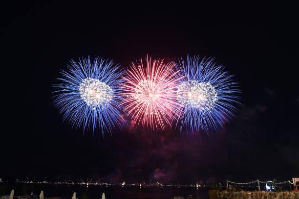 FRA: Bastille Day Fireworks - The 74th Annual Cannes Film Festival