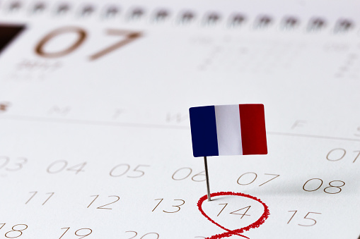 Bastille day-July 14 calendar 812457860