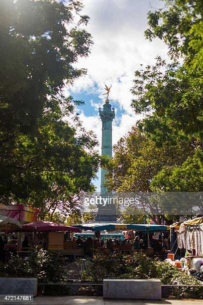 Bastille Monument and Markets