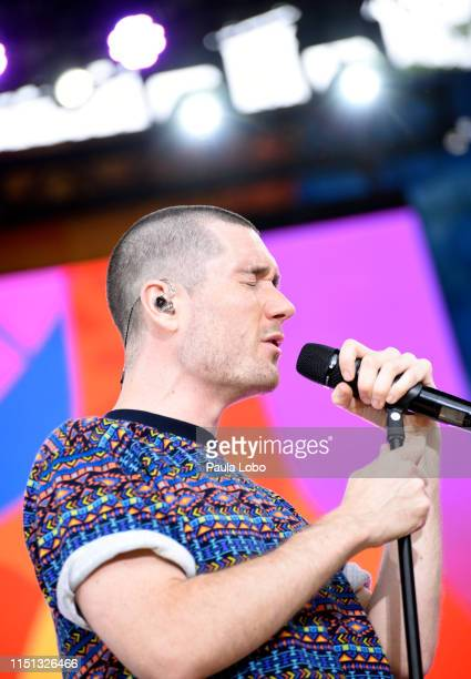 Bastille performs live from Central Park as part of the GMA Summer Concert Series on Good Morning America Friday June 21 airing on ABC GMA19 BASTILLE