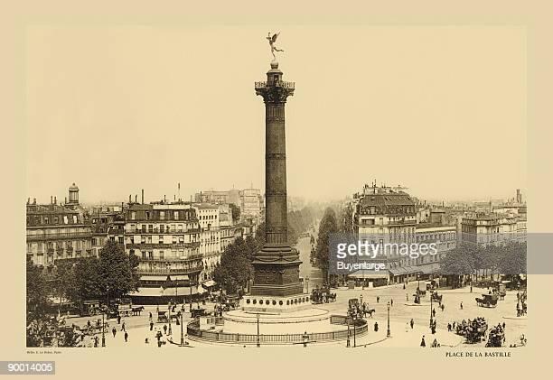 Bastille Place - July Column