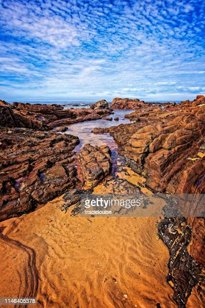 bastion point at mallacoota - mallacoota stock pictures, royalty-free photos & images