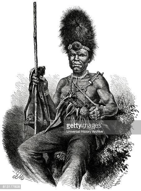 Basuto Magician Africa Illustration 1885