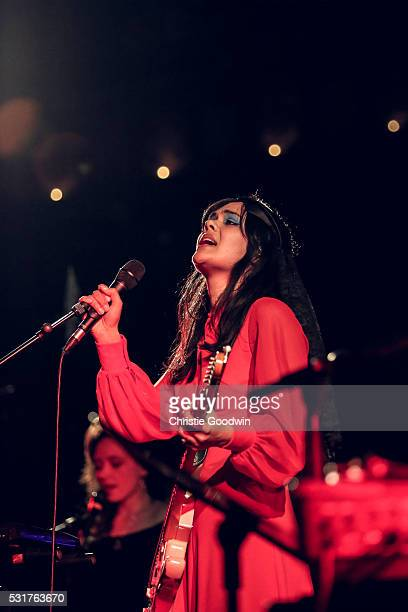 Bat For Lashes performs on stage at Union Chapel on May 16 2016 in London England