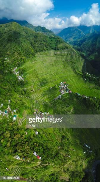 terrazas de arroz de batad cerca de banaue, filipinas - paisajes de filipinas fotografías e imágenes de stock