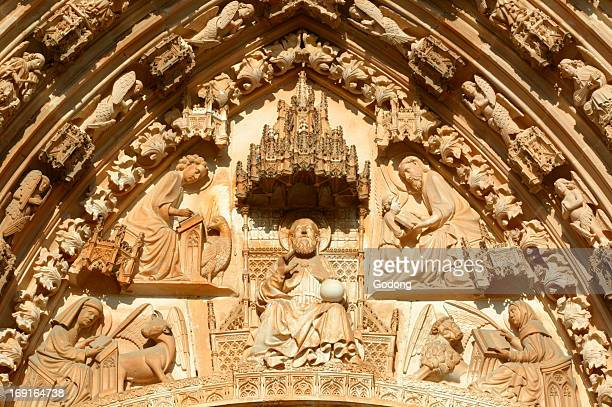 Batalha monastery Jesus and the 4 evangelists
