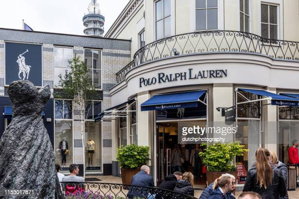 batavia stad fashion outlet with ralph lauren polo store - ralph lauren designer label stock pictures, royalty-free photos & images