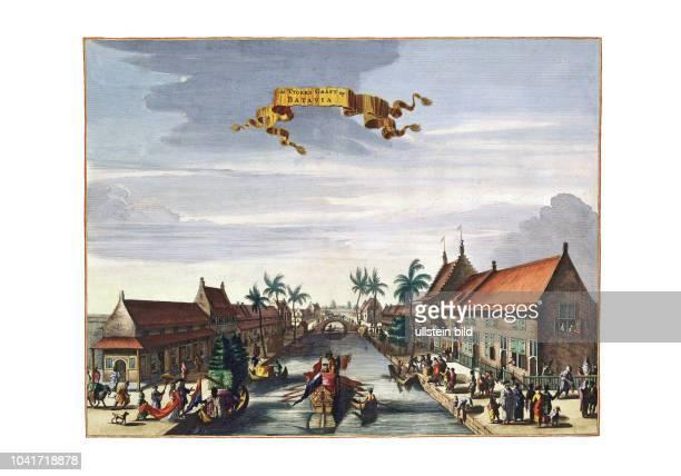 BataviaGracht 1682 Von Johann Nieuhoff Amsterdam 1682