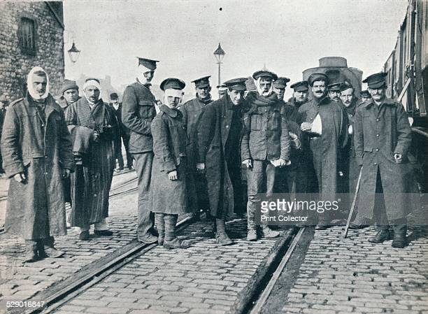 A batch of Neuve Chapelle wounded on a French railway station 1915 The Battle of Neuve Chapelle was a British offensive in the Artois region of...