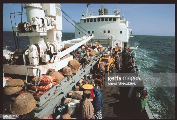 Bateau reliant Dakar Ziguinchor au Sngal