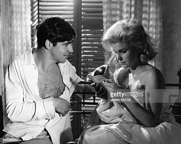 Bates Alan *Schauspieler GB mit Lee Remick in dem Film 'Der zweite Mann'Regie Carol Reed 1963