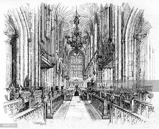 Bath Abbey Bath Somerset 19021903 From Penrose's Pictorial Annual 19021903 An Illustrated Review of the Graphic Arts volume 8 edited by William...