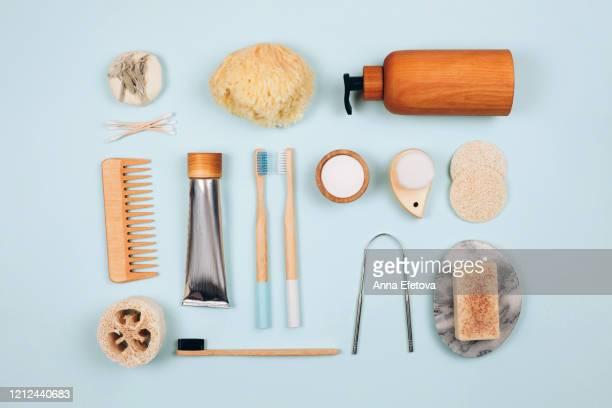 bath accessories set for home - 商品 ストックフォトと画像