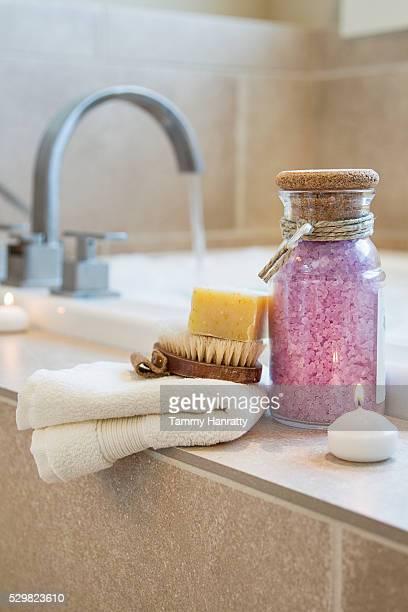 Bath and bath equipment
