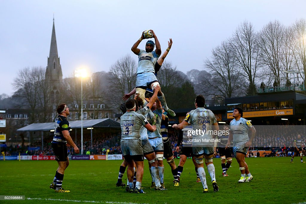 Bath Rugby v Worcester Warriors - Aviva Premiership : News Photo