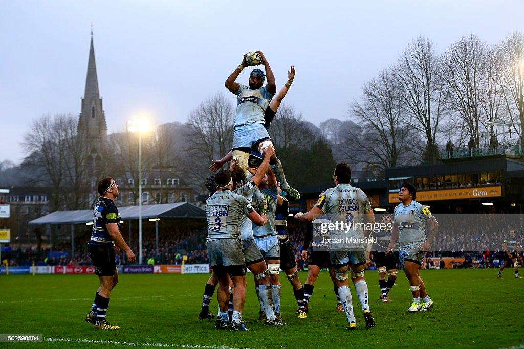 Bath Rugby v Worcester Warriors - Aviva Premiership : ニュース写真