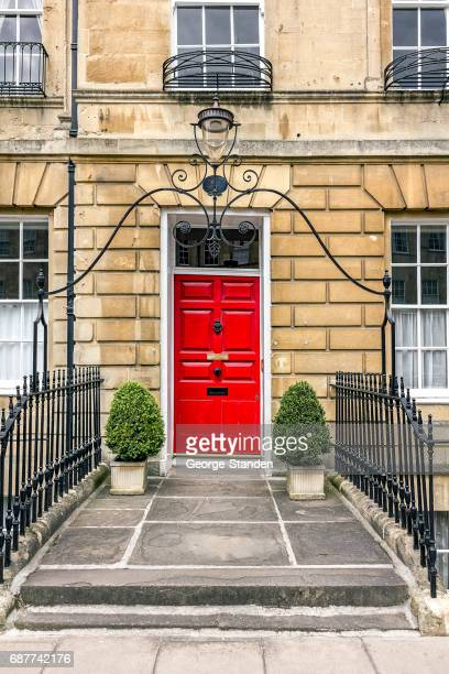 bath architecture - bath england stock photos and pictures