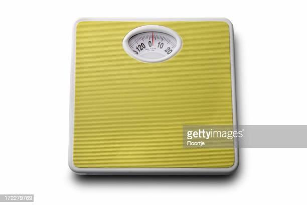 バス:バスルームに体重計
