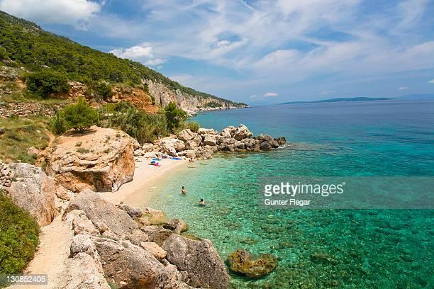 Bath bay Milna, Island Hvar, Dalmatia, Croatia