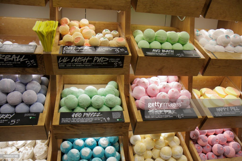 Bath bombs for sale inside Macy\'s Department Store at Westland Mall ...