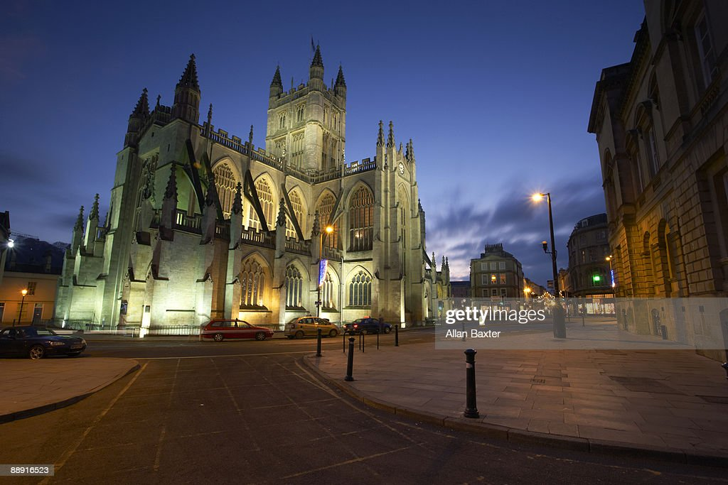 Bath cathedral : Stock Photo