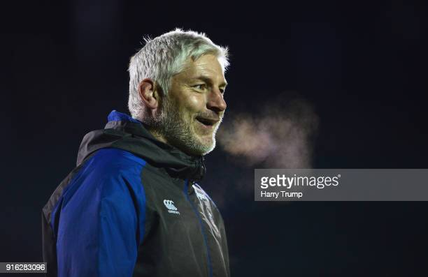 Bath Director of Rugby Todd Blackadder before the Aviva Premiership match between Bath Rugby and Northampton Saints at Recreation Ground on February...