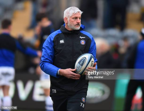 Bath Rugby Director of Rugby Todd Blackadder during the Gallagher Premiership Rugby match between Worcester Warriors and Bath Rugby at Sixways...