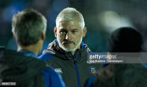 Bath Rugby's Director of Rugby Todd Blackadder during the European Rugby Champions Cup match between Bath Rugby and RC Toulon at Recreation Ground on...