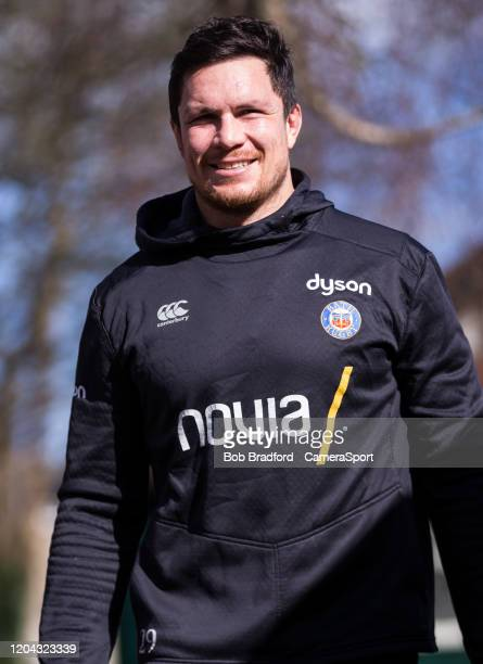 Bath Rugby's Francois Louw arrives at the ground during the Gallagher Premiership Rugby match between Bath Rugby and Bristol Bears at on March 1 2020...