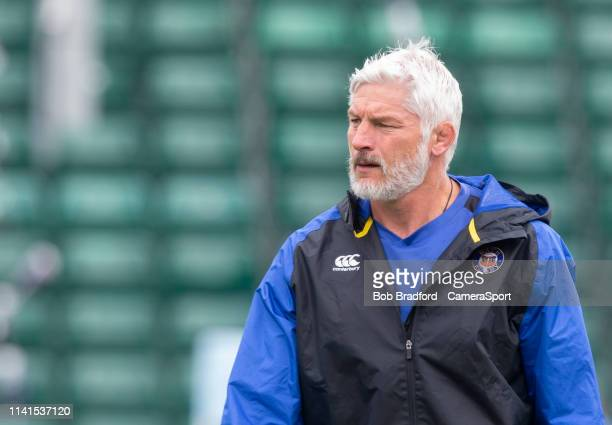 Bath Rugby's Head Coach Todd Blackadder during the Gallagher Premiership Rugby match between Bath Rugby and Wasps at Recreation Ground on May 5 2019...