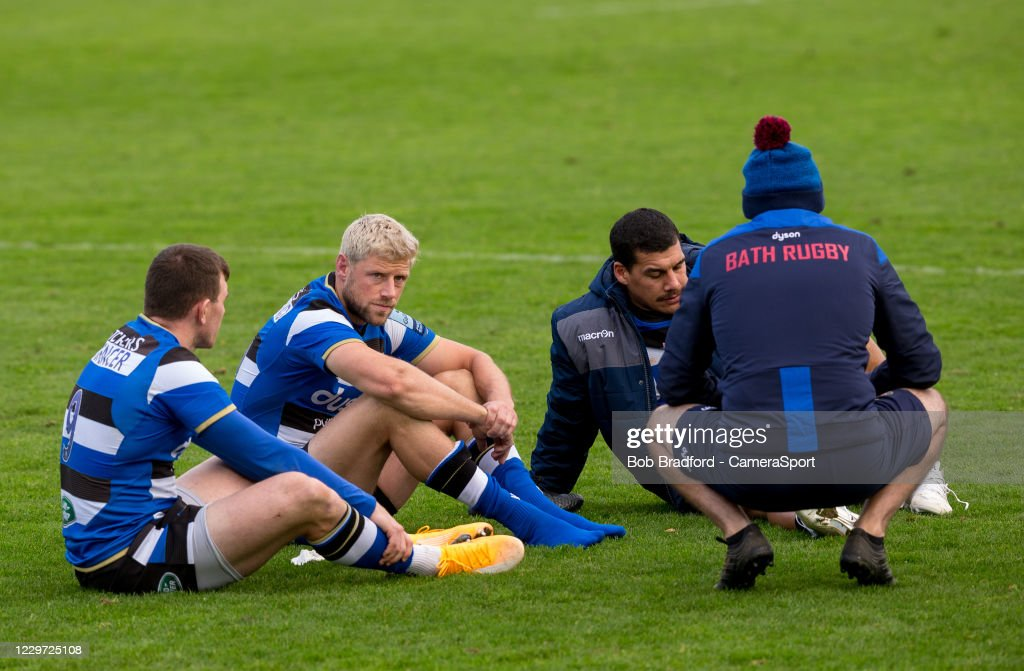 Bath Rugby v Newcastle Falcons - Gallagher Premiership Rugby : News Photo