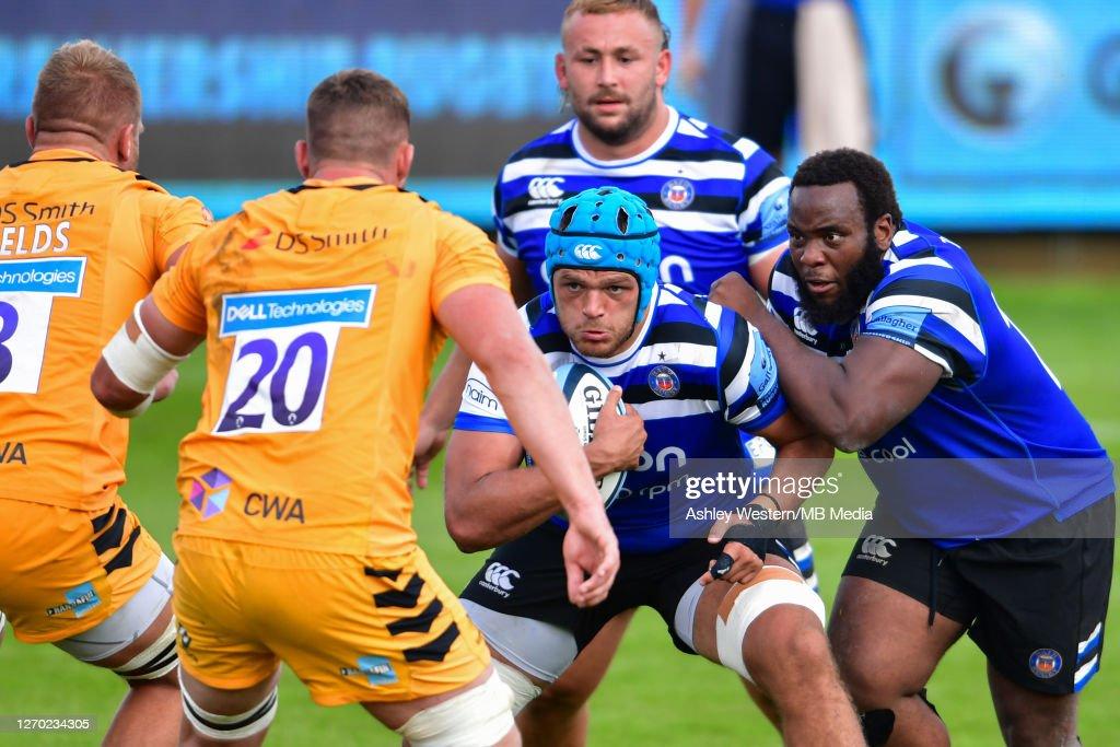 Bath Rugby v Wasps - Gallagher Premiership Rugby : News Photo