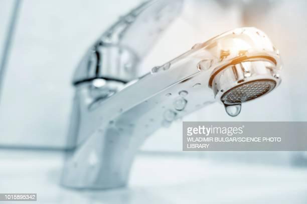 bath shower mixer tap - 家庭の備品 ストックフォトと画像