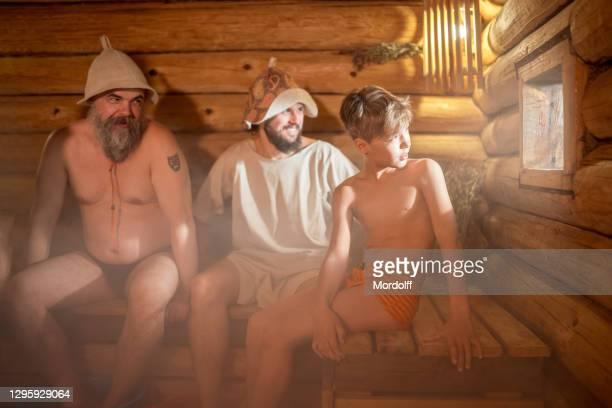 Sauna boys in saunas