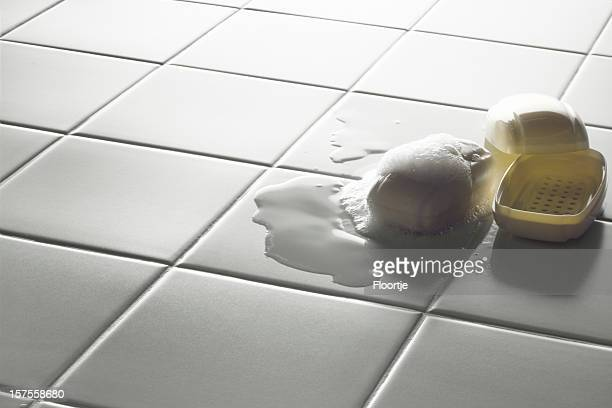 Bad Fotos: Seife auf Badezimmer-Etage