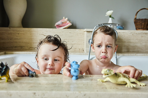 Bath time - gettyimageskorea