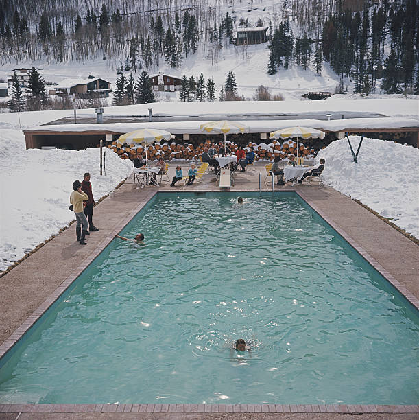 Snow Round The Pool