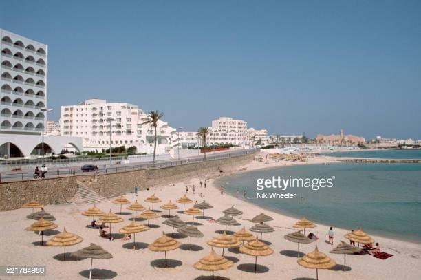 Bathing Beach in Monastir