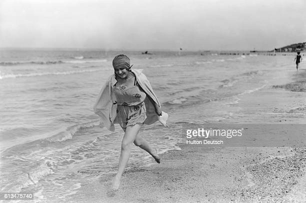 Bathing belle at Deauville