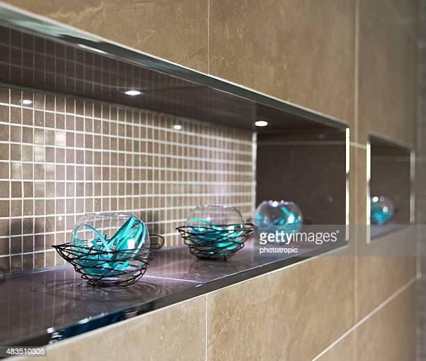 bathroom decorative feature