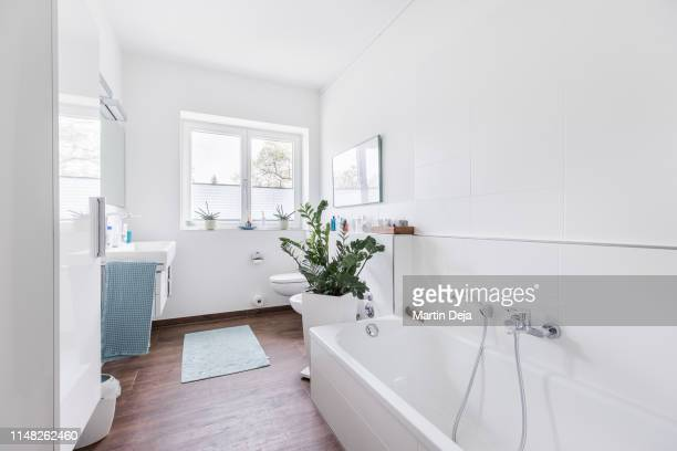 bathroom hdr - domestic bathroom stock pictures, royalty-free photos & images