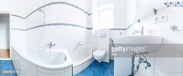 Bathroom in an appartment - Panorama