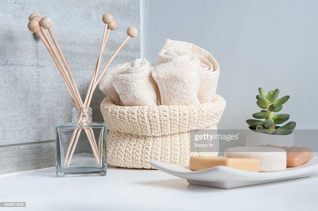 Bathroom interior - Stock Image
