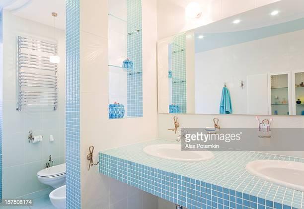 Bathroom. Modern luxury interior
