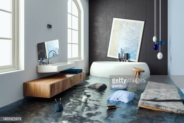 bathroom overflow - overflowing stock pictures, royalty-free photos & images