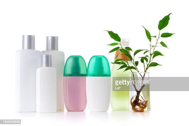 Badezimmer mit beliebiger Flaschen packshot