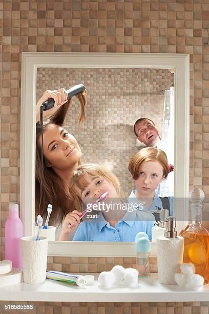 La salle de bains de la vie privée