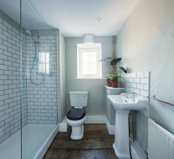 Bathroom renovation in a listed period property