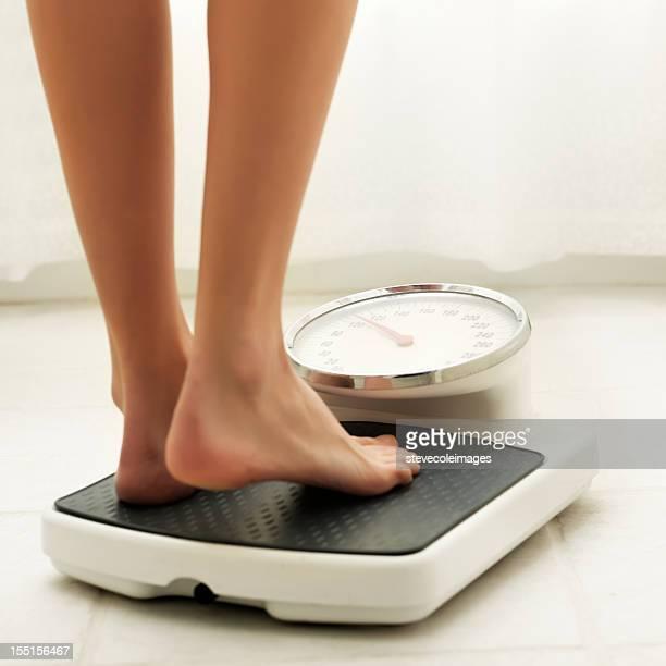 バスルームに体重計